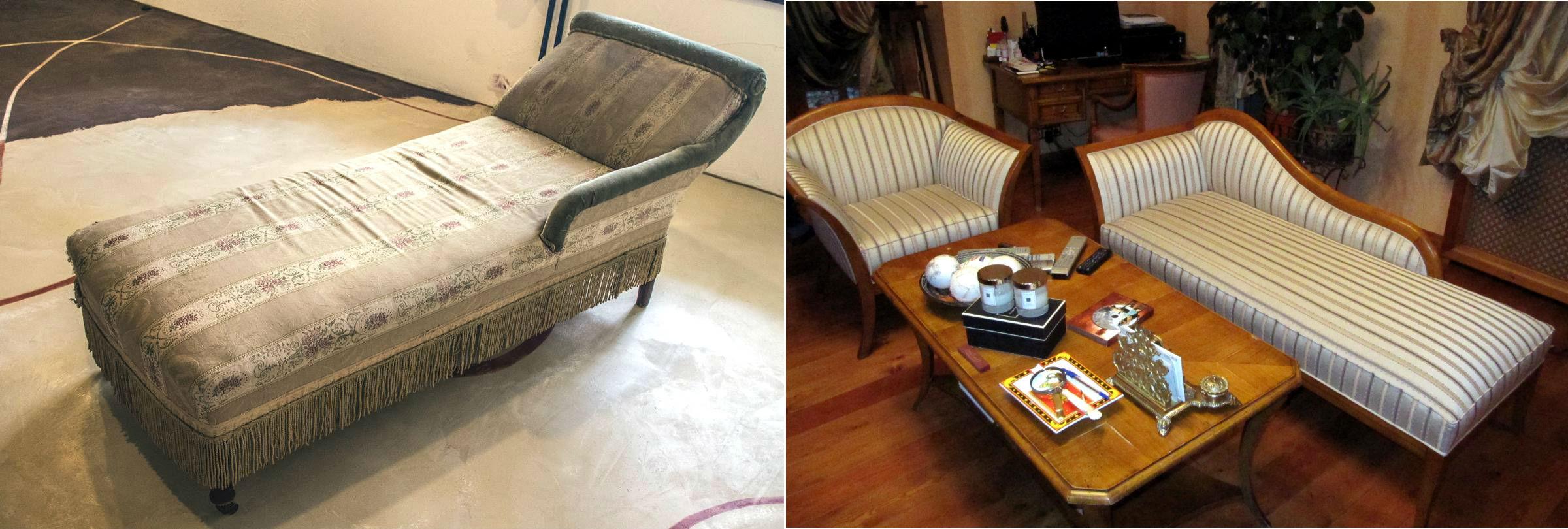 Старый диван своими руками 716
